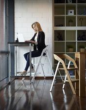Sedia Sgabello scaletta scaleo legno / alluminio x casa, ufficio, negozio 3 grad