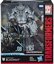 Transformers Studio Series 08 Leader Class Movie 1 Decepticon Blackout Action...