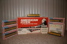 AMERICAN FLYER S GAUGE #6-49600 UNION PACIFIC PONY EXPRESS PASSENGER SET, BOXED