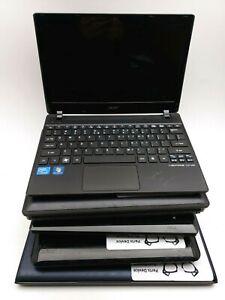 FOR PARTS Lot 5x Mini Laptop Acer Aspire 756 Lenovo X130e S10-3 Toshiba R835 HP