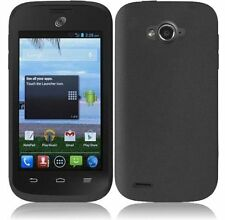 Silicone Case for Straight Talk ZTE Savvy Z750C / Awe N800 / Reef N810 Phone NEW