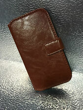 Genuine Synthitic Leather Wallet Flip Case Cover For Samsung Galaxy S3 S4 S5