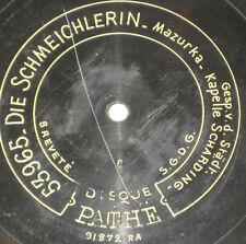 78rpm/Pathe 53966/STÄDTISCHE KAPELLE SCHÄRDING/DIE SCHMEICHLERIN/MARIEN MAZURKA