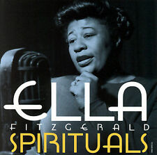 Audio CD: Spirituals, Ella Fitzgerald. Good Cond. Original recording remastered,