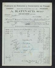 """AIXE-sur-VIENNE (87) USINE de ROMAINES & INSTRUMENT PESAGE """"A. RATINAUD"""" en 1936"""