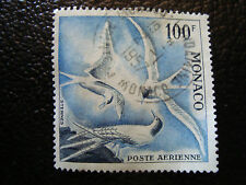 MONACO timbre yvert et tellier aerien n° 66 obl (dentele 13) (A4)stamp monaco(U)