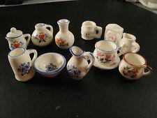 Dînette-Vaisselle miniature porcelaine