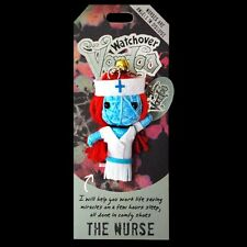 Watchover Voodoo Doll 'The Nurse' Car Rear View Mirror Hanger Keyring