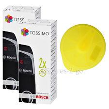 Bosch tassimo véritable machine à café jaune service t disque 621101 & écailleur x 2