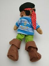 POWELL CRAFT SMALL PIRATE TOY 20cm - NO TAGS