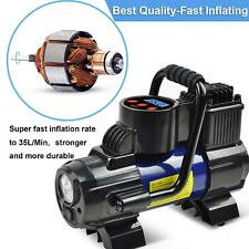 Portable Air Compressor Pump For Car Mini Tire Inflator Motorcycle 120W 150 PSI