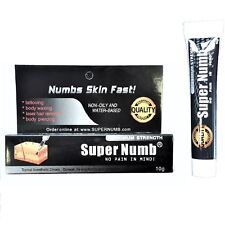 10g SUPER NUMB® Numbing Cream Skin Anesthetic Tattoo Piercing Waxing Laser Dr