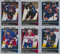 2009-10 Upper Deck Series 1 Series 2 Young Guns Rookie YOU CHOOSE