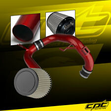 12-15 Honda Civic 1.8L 4cyl Red Cold Air Intake + Stainless Steel Air Filter