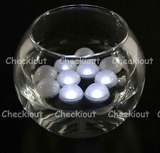 48 LED White Mini Fairy Lights Waterproof Floating Ball Party Wedding Decorate