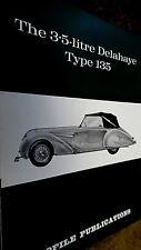 PROFILE PUBLICATIONS CAR #53: THE 3.5 LITRE DELAHAYE TYPE 135 (1967)
