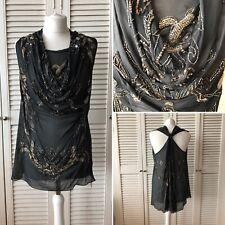 Amazing All Saints Azal Dress Black