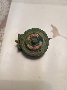 Fibule Circulaire Gallo-romaine