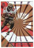 2016 Panini Unparalleled Rainbow Spokes Pattern #111 Warrick Dunn Buccaneers