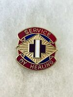 Authentic US Army 2289th Hospital DI DUI Unit Crest Insignia G-23