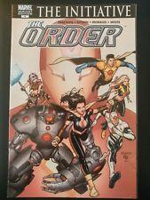 The ORDER #1b (The Initiative) (2007 MARVEL Comics) ~ VF/NM Book