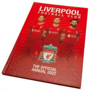 Liverpool Football Club FC 2022 Official Hardback Annual LFC Anfield The Reds
