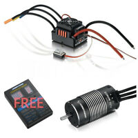 Hobbywing QUICRUN 8BL150 150A ESC & EZRUN 4274 Brushless Motor Free Program Card