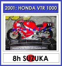 1/18 - HONDA VTR 1000 SPW - ROSSI EDWARDS KAMADA - 2001 8h SUZUKA - Die-cast