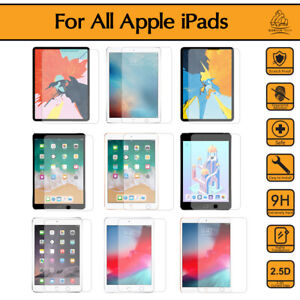 Genuine Gorilla iPad Tempered Glass Screen Protector For Pro 12.9 Air 3 2 7 6 5