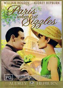 DVD PARIS WHEN IT SIZZLES AUDREY HEPBURN BRAND NEW UNSEALED FAST POST REGION