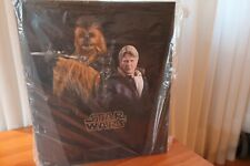 HOT TOYS 1/6 HAN SOLO & CHEWBACCA - Star Wars The Force Awakens - ** NEW **
