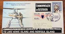 1981 chichesters flight across the Tasman inc Norfolk Island stamp issue