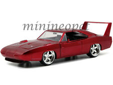 JADA 97060 FAST AND FURIOUS 1969 69 DODGE CHARGER DAYTONA 1/24 DIECAST RED