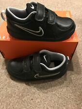 NIKE TRAINERS SIZE 4.5 TODDLER. BOYS. INFANT. BABY. SHOES. LEATHER. NEW