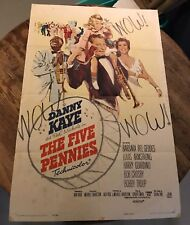 The Five Pennies 1959 one sheet Movie Poster