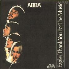 """Abba(7"""" Vinyl P/S)Eagle / Thank You For The Music-Melba-45 X 125-France-Ex/Ex"""
