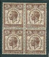 Great Britain Sc 207 BL 4 inverted WMK  MINT NH  VF