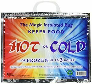 Original Magic Insulated Bag Reusable, Keep Food Hot or Cold Up to 3 Hours 30lb