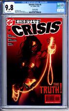 IDENTITY CRISIS #4 CGC 9.8 WONDER WOMAN MICHAEL TURNER 2nd PRINT VARIANT 2004