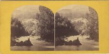 Suisse St. Sauveur Photo Stereo Vintage albumineca 1865