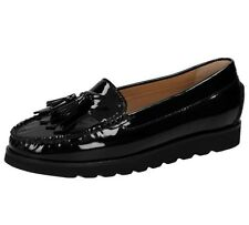 moccasin loafer Sioux patent leather uk 4.5 fits 5