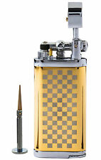 Tobacco Pipe Lighter With Tamper And Pick - Xikar Corona Old Boy Style - G01