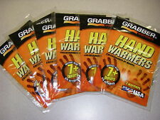 Grabber Warmers Big Pack 7 + Hours Hand Warmers 12 Grabber 6 Pairs USA Exp 02/21