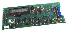 NEW GMI DATABOX 050G100081 CIRCUIT BOARD W/ DISPLAY W/ FUTABA M202SD08F