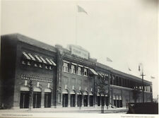 """NEW 11""""x14"""" B/W GLOSSY PHOTO: FENWAY PARK BALL GROUNDS EXTERIOR, SEPT 28, 1914"""