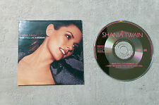 "CD AUDIO MUSIQUE / SHANIA TWAIN ""MAN! FEEL LIKE A WOMAN!"" 2T 1999 CDS CARDSLEEVE"