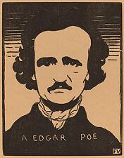 Felix Vallotton Reproductions: Edgar Allan Poe - Fine Art Print