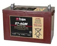 BATTERY TROJAN 27-AGM 12V 89AH  AGM 550 CCA DEEP CYCLE  BCI GRP 27  EACH