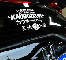 Osaka No Good Racing Kauboikuru Japanese 3M Reflective Vinyl Sticker Windshield
