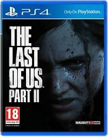 THE LAST OF US PART II 2 - PLAYSTATION 4 PS4 - IN STOCK NOW - FREE UK POST!!!